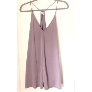 Urban Outfitters Silence&Noise lavender tunic